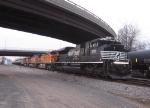 NS 2721, BNSF 5349, BNSF 5139 & BNSF 4039