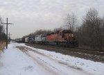 CP 5966, CITX 3082 & ICE 6102