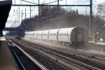 Amtrak #145 kicking up dust