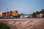 BNSF 7884 eastbound Z pulls a all JB Hunt Intermodal towards Winslow, AZ.