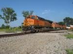 WB BNSF intermodal train