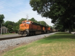 EB BNSF Scherer coal train