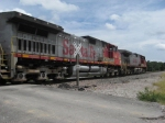 EB BNSF freight