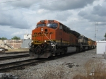 WB BNSF empty coal train
