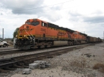 WB BNSF empty Scherer coal train