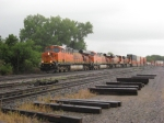 EB BNSF Stack train