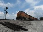 WB BNSF Freight