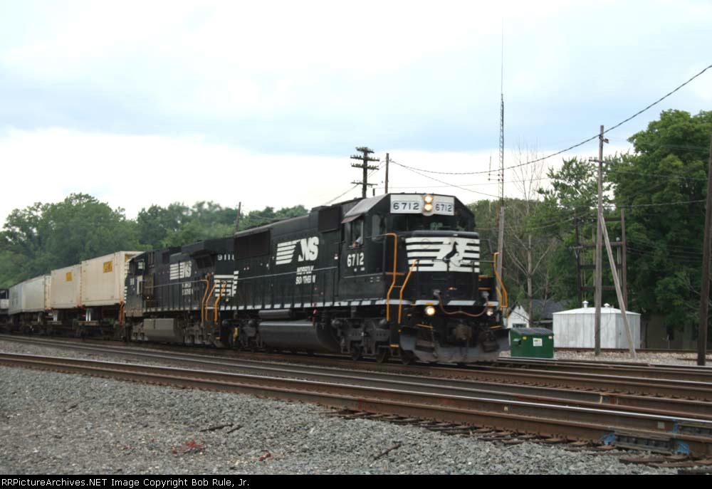 EB TOFC Train
