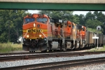 BNSF 4140, southbound Baldwin coal load