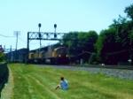 Eastbound UP Intermodal