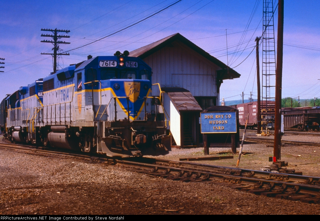 D&H SB-1 at Hudson Yard in Hudson, Pa.