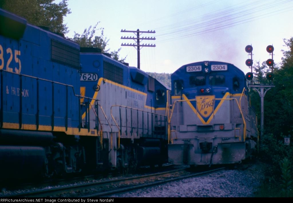 D&H meet at Beldon Hill near Tunnel, NY