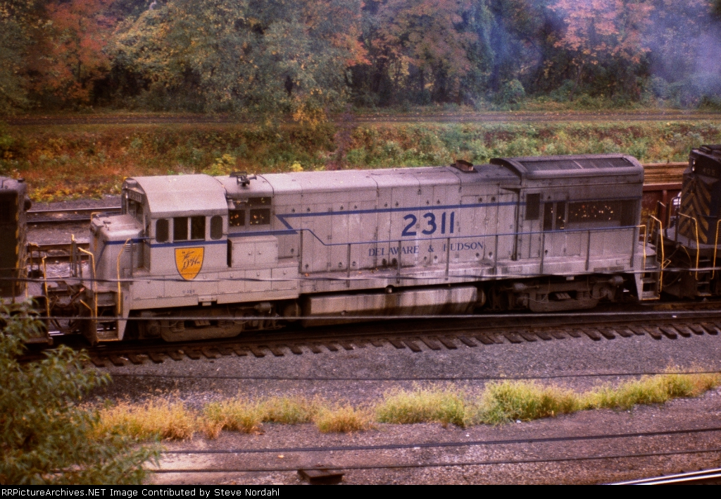 """D&H #2311 the """"Grey Ghost"""" at CP-Ham in Allentown, Pa."""