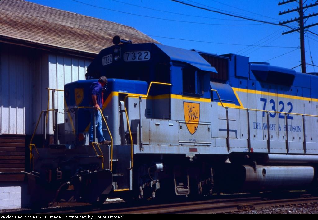D&H SB-1 at Hudson Yard, in Hudson, Pa.
