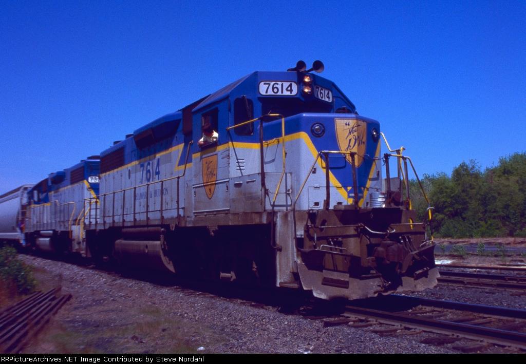 D&H SB-1 in Wilkes-Barre, Pa.