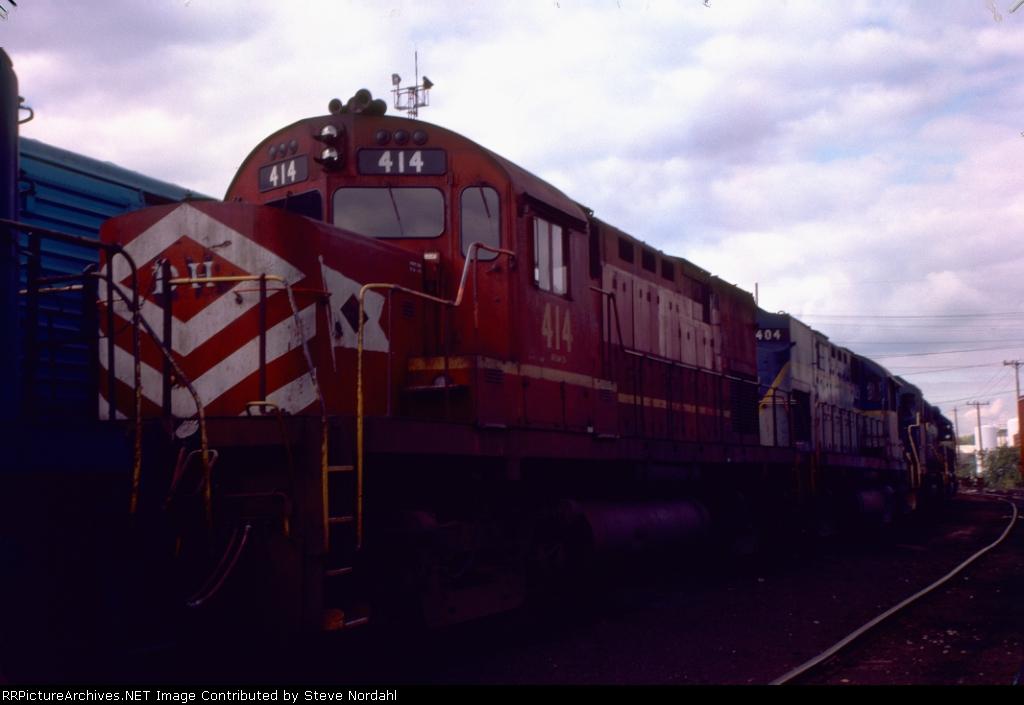 D&H in Bevier Street Yard in Binghamton, NY