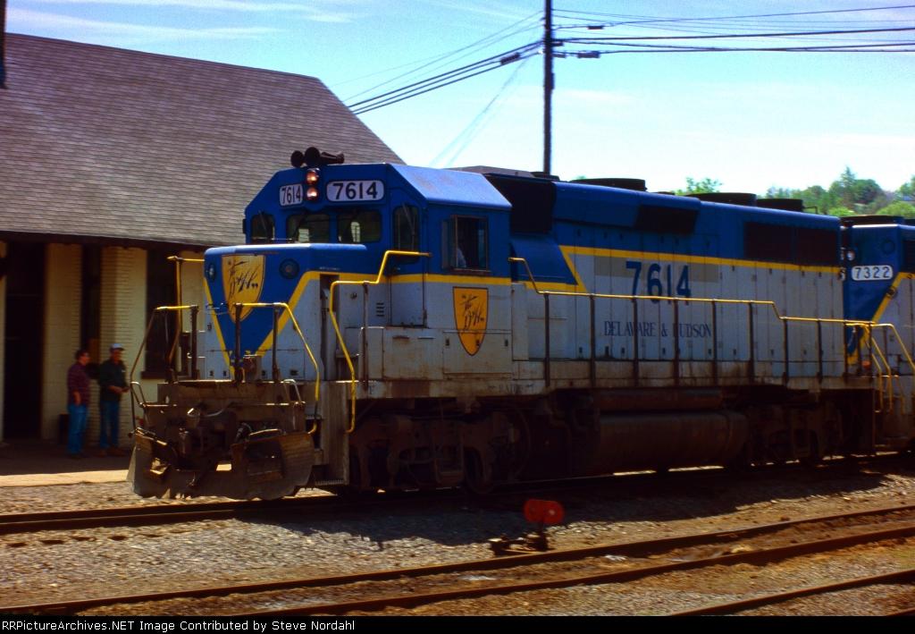 D&H SB-1 at Taylor, Pa.