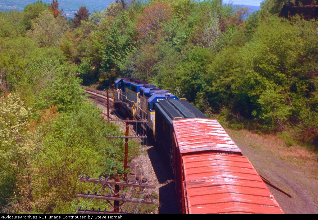 D&H SB-1 at Wilkes-Barre, Pa.