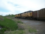 UP 6817 on eastbound UP coal train