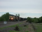 UP 5693 eastbound UP loaded coal train