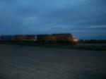 BNSF 4841 westbound UP manifest train