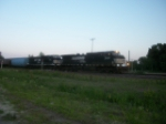 NS 9422 westbound UP manifest train