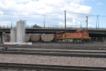 BNSF 5795 Point On An Empty Coal Train