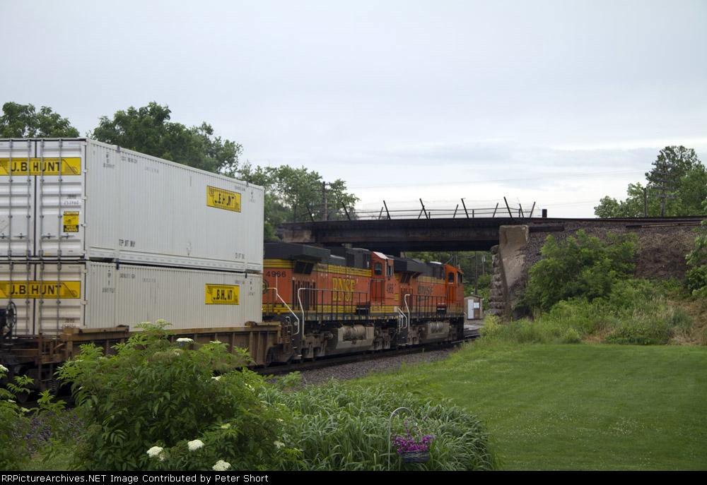 BNSF6350 and BNSF4966