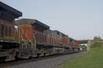 BNSF4384, BNSF4076 and BNSF4311