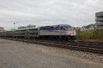 Virginia Railway Express V62 passes AF interlocking