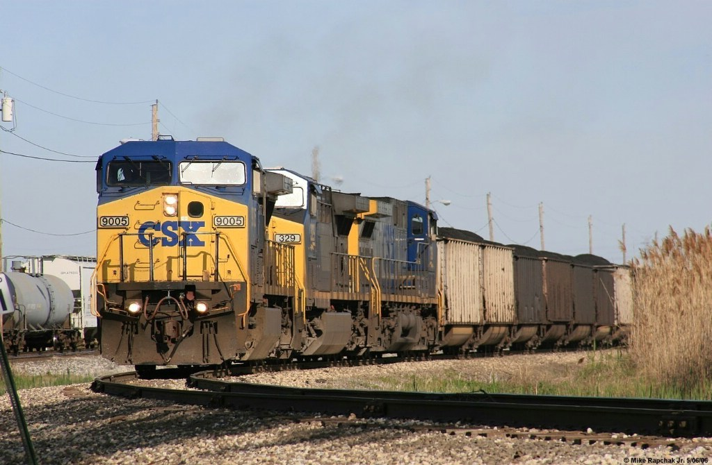 CSX 3 Pack and Coal Freight