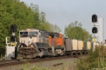 BNSF Coal Freight Highballs
