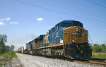 CSX 561 with an Eastbound Stack train