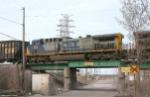 CSX CW44AC 228