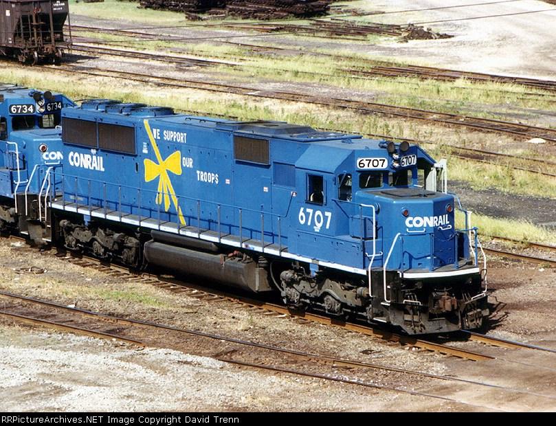 "Conrail ""Desert Storm"" special loco"