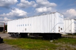 Long after Conrails dimise, this Conrail trailer sits in an empty lot