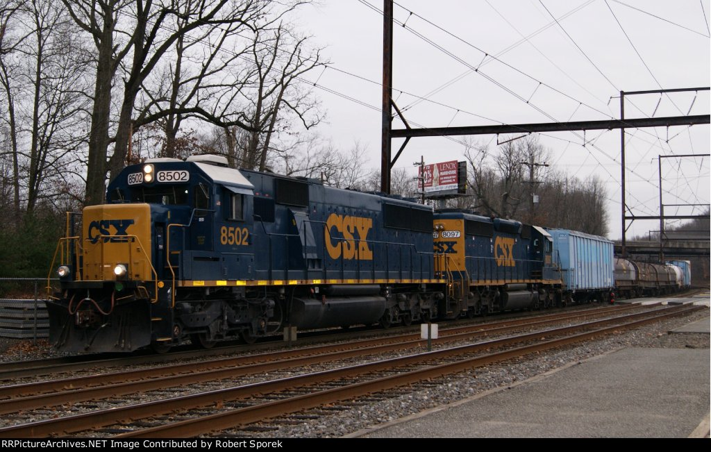 Q300 With SD50-3 #8502 and SD40-2 #8097 for Power