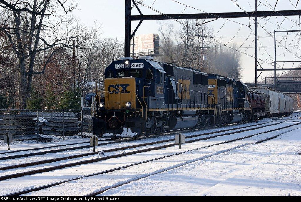 CSX Q300 in the Snow - A Case of DeJaVu
