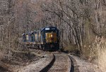 CSX Local on the Fairless Branch - 3/20/2011