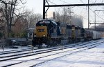 CSX Q300 in the Snow - A Case of DeJaVu