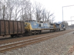 CSX Q439 with SD80MAC #4596