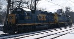 CSX C964s Power - 6076 and 2811