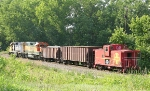 BNSF 2784 with 2310 and 750