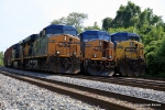 CSX 5356, 750, and 386