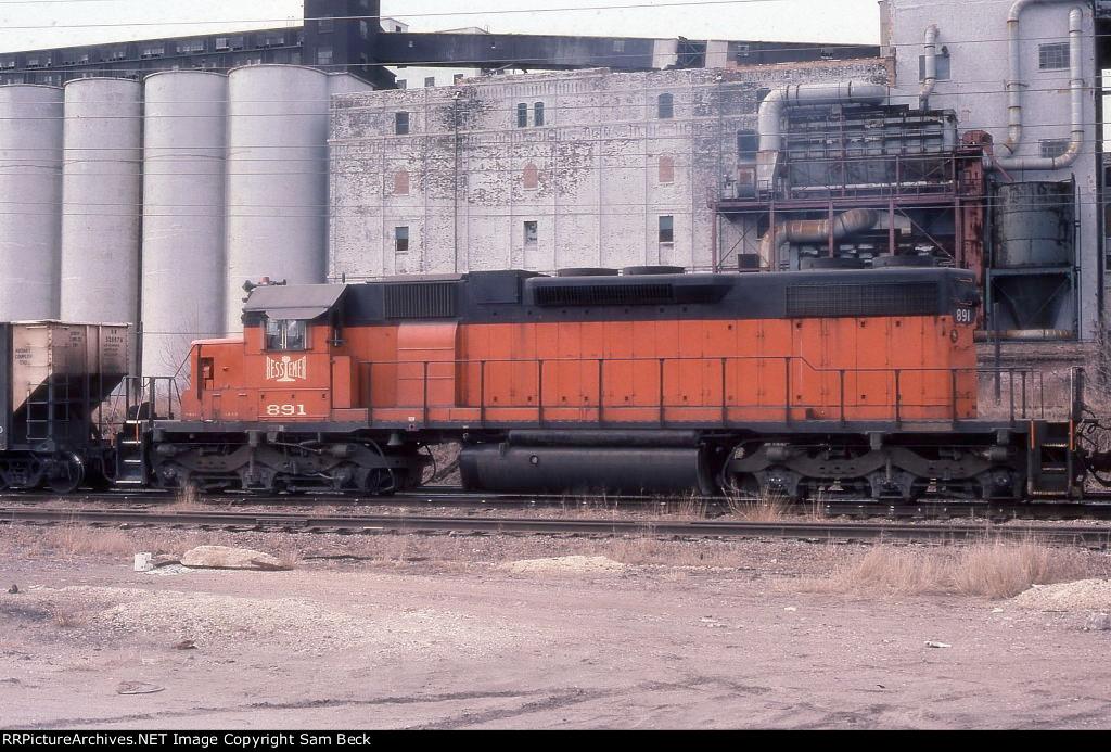 B&LE 891--SD38-2