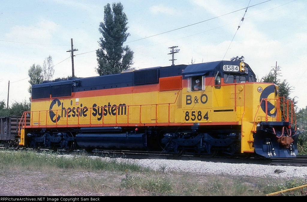 B&O 8584--New SD50