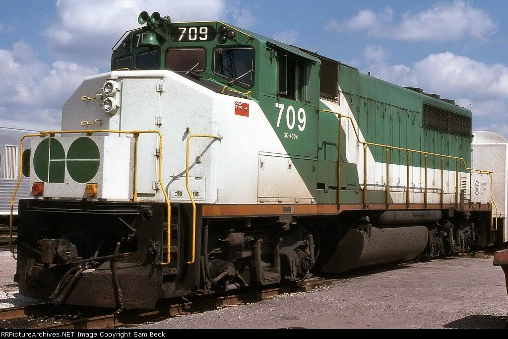 GOT 709--GP40-2LW