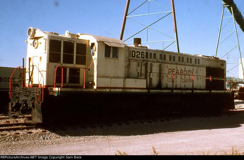 Peabody Coal 1026--RS12