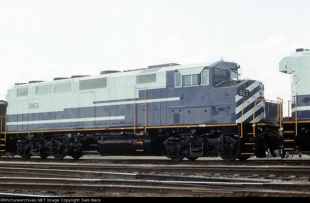 SCAX 863--New F59PH