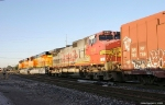 BNSF 7435 and a Mixed Freight Head North